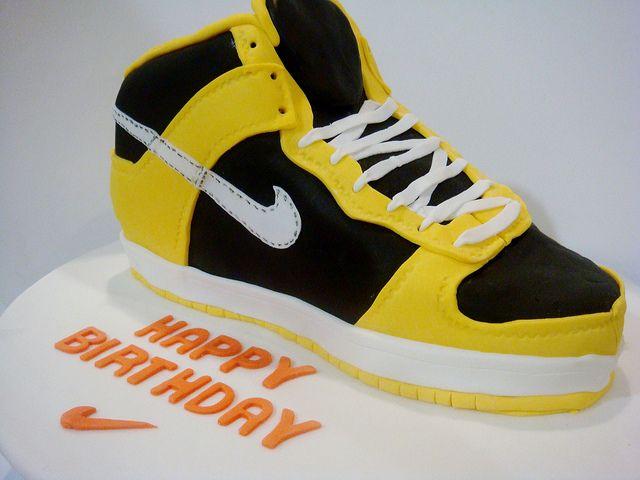 Sneaker Birthday Cake
