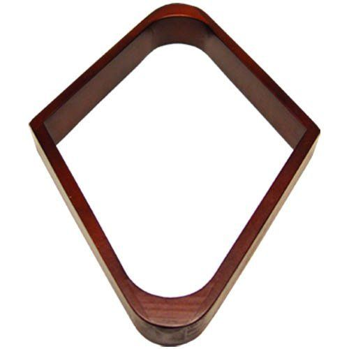 "Sterling Deluxe 9-Ball Rack, Mahogany by Sterling. $9.99. This 9-ball billiard ball rack is nicer than most. Made with quality, it will outlast your pool table. The finish is mahogany. It is made to rack standard 2-1/4"" pool balls."