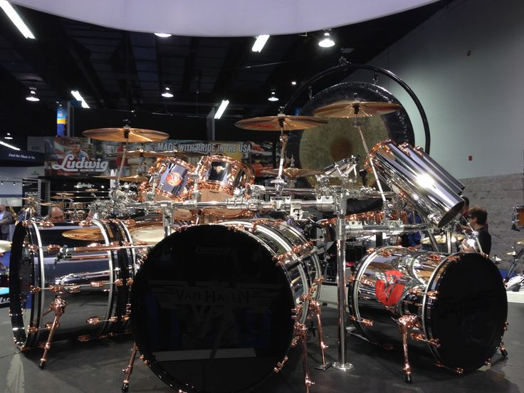 Alex Van Halen's 2015 Ludwig Classic Maple Drum Set                                                                                                                                                                                 More