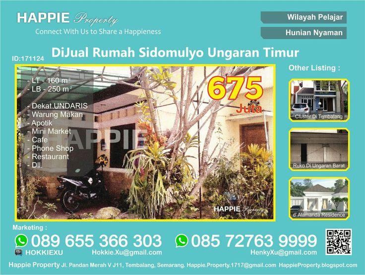 Dijual Rumah Di Sidomulyo Ungaran Timur  Minat Hub : Hokkie Xu - 089 655 366 303 Available on WhatsApp Pin BBM - HOKKIEXU David Henky - 085 72763 9999 Available on WhatsApp