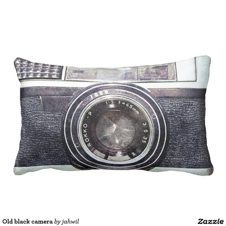 Old black camera pillow #photography #camera #vintage #analog #filmphotography #cool #funny #hipster #photographer #urban #photo #retro