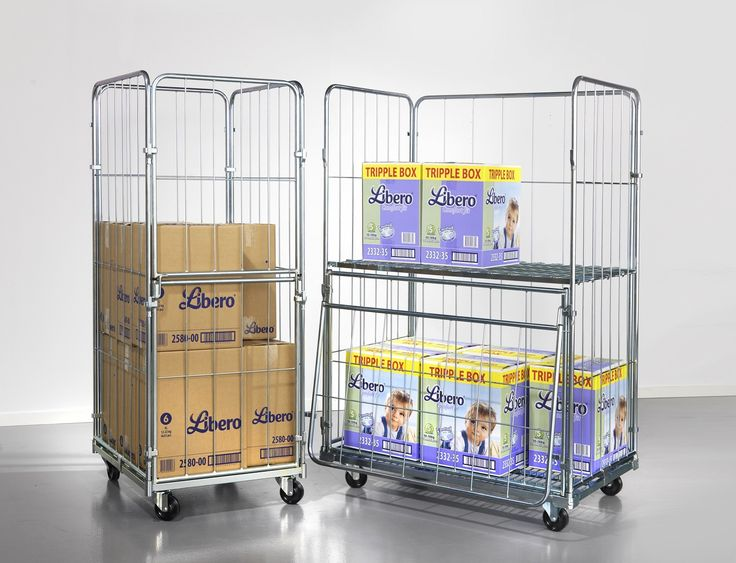 Handle heavy items with folding sack trolleys