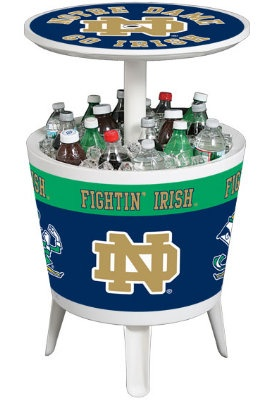 University of Notre Dame Fighting Irish Cooler Table