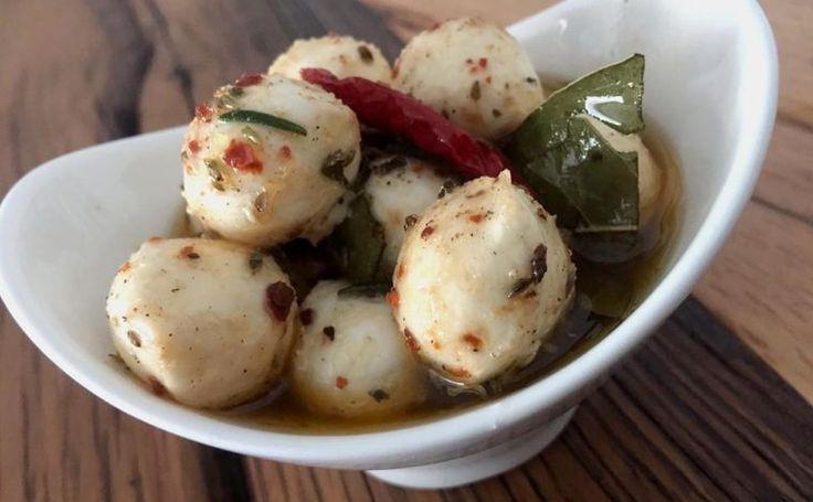Marine Edilmiş Mozzarella Topları