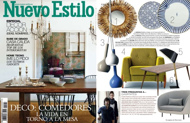 revista nuevo estilo para los interiores