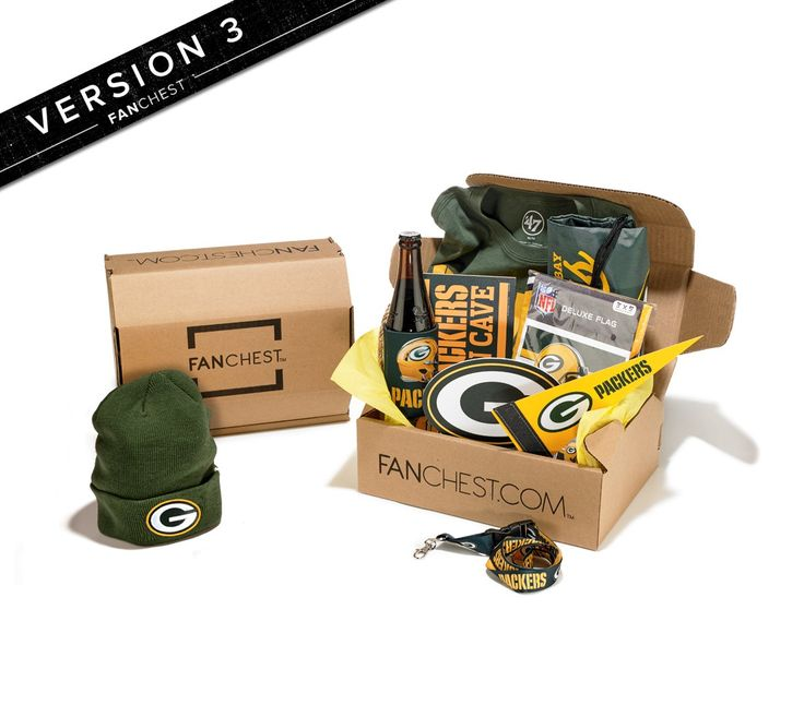 Green Bay Packers Gift Box | Packers Gear | Great Gift for Packer Fans