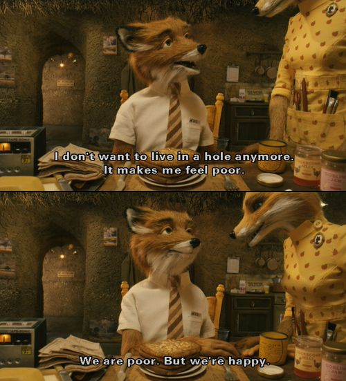"""Fantastic Mr. Fox   """"comme ci, comme ca."""""""