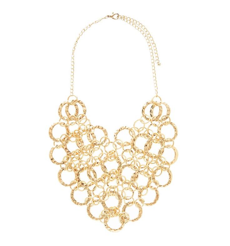 Kayla Hammered Necklace - Forever New