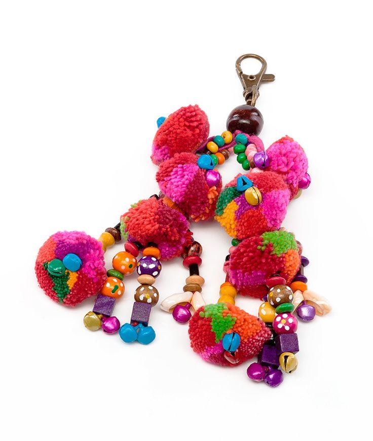 Colourful Bag Charm/Keyring - All That I Need