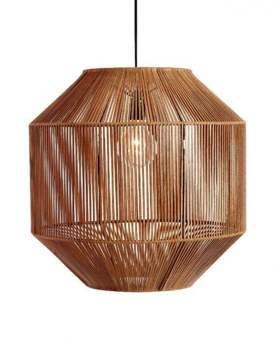 Lampe Nest Læder