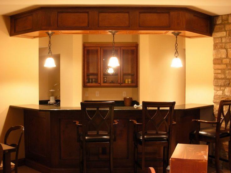 Overhead Finisher Basement Bar Ideas U2013 Showing Your Elegant Style : Image  Basement Bar Ideas