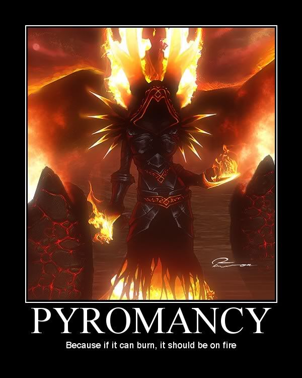 Pyromancy posted by Warlawk