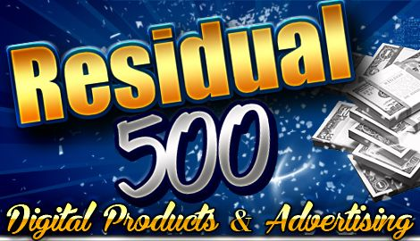 As for the product line, Residual 500 is not offering any product or service for sale or retail. Affiliates can only promote their membership. Watch out. . . .