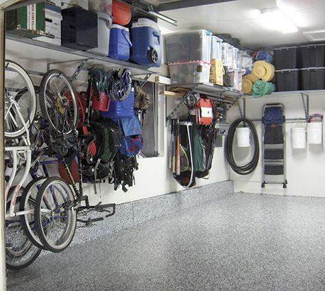 rangement mettre fin au chaos garage organization garage storage and organizations. Black Bedroom Furniture Sets. Home Design Ideas