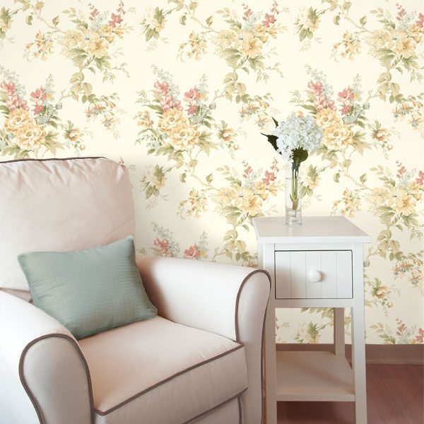Slug Trail On Living Room Carpet: Best 25+ Vintage Floral Wallpapers Ideas On Pinterest