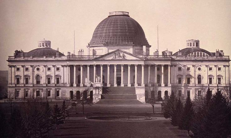 The US Capital in 1860