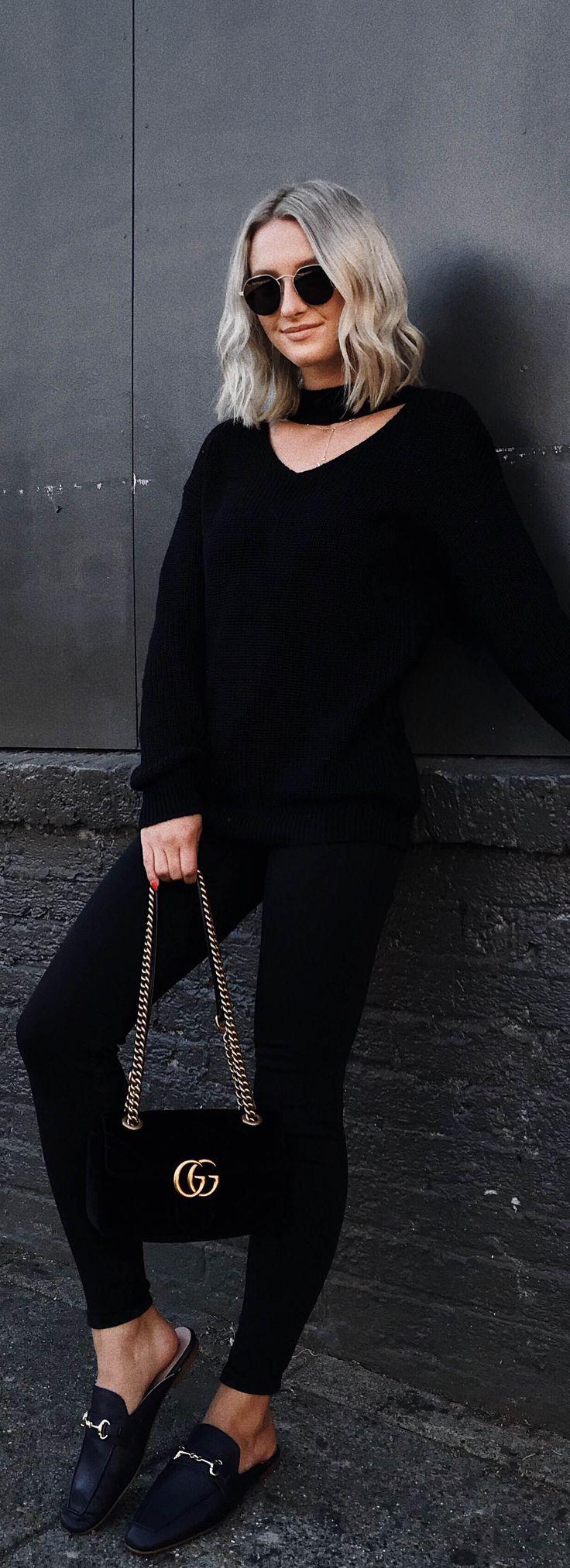 Bonfire Babe Sweater - Black #lovepriceless