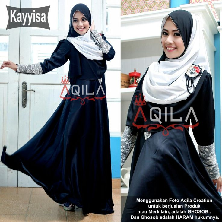 Kayyisa 01  Set dress + hijab in black edition.  Idr. 265k  Contact us for details :  Line :  aqilacreation aqilahijab  Whatsapp :  +62-823-0000-9229 +62-823-0000-9191  Pin bbm : 5219beb8 5206ac0e  #hijabsyari #hijab #hijabtrend #jilbab #busanamuslimah #bajumuslimah #khimar #dress #gamissyari #aqilacreation #bergo #jilbab