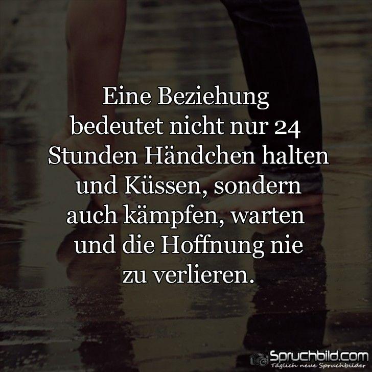Eine Beziehung. ....