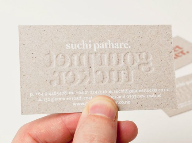 63 best business cards images on pinterest embossed business cards logo and mixed fibre business with white ink print finish designed by supply for auckland deli reheart Gallery