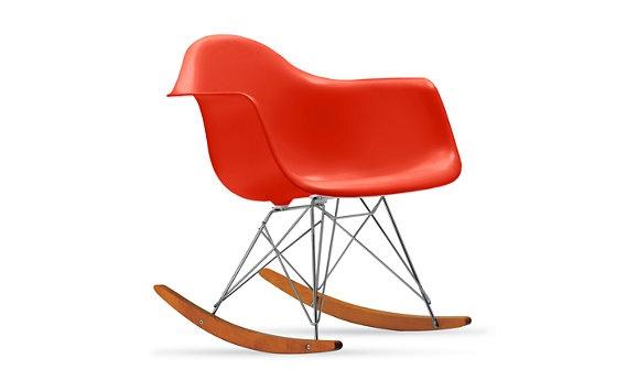 eames molded plastic rocker rar molded rocker rocker rar rocking chair ...