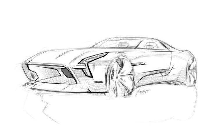 Automotiv Sketches on Behance