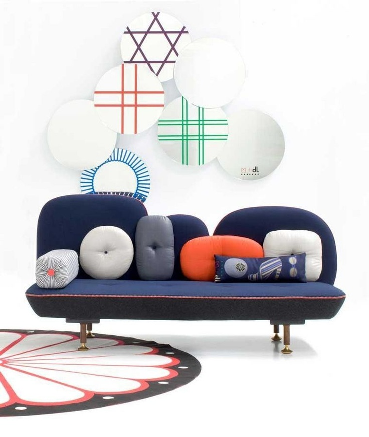 design wall mirror SHEESHA by Nipa Doshi Jonathan Levien MOROSO
