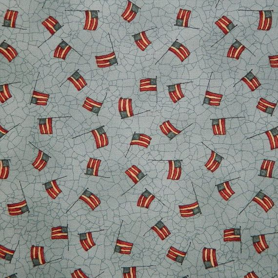 Moda Fabric  Let Freedom Ring by Kathy by 1000BoltsofFabric