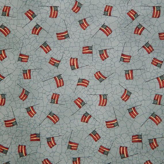 Moda Fabric  Let Freedom Ring by Kathy by 1000BoltsofFabric