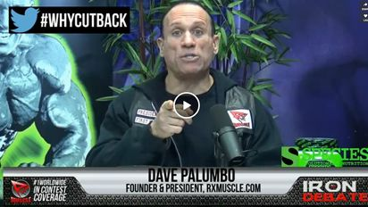 Dave Palumbo (RX #Muscle, Species #Nutrition) on Gregg & Joe Show 1/12