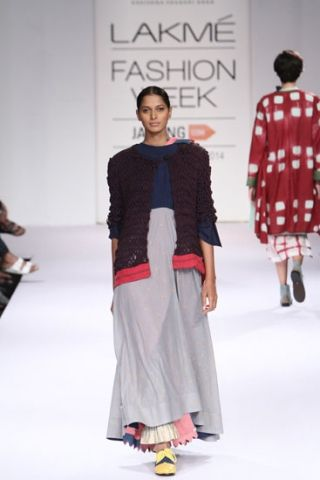 Karishma Shahani. LFW A/W 14'. Indian Couture.