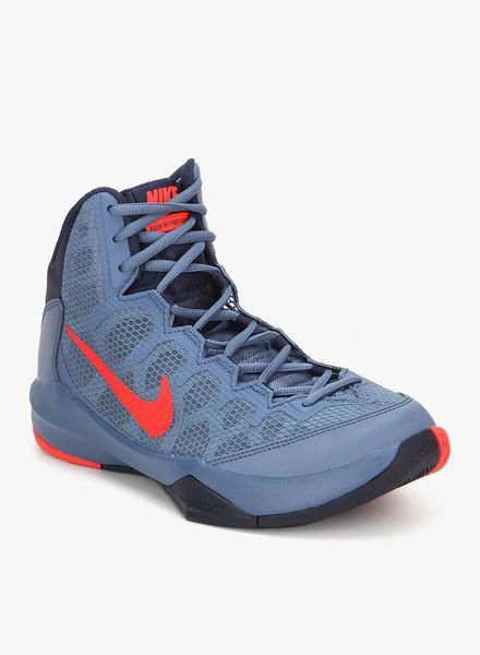 307eecdca02e7 Nike Zoom Without A Doubt Blue Basketball Shoes for Men. Great look   basketballonline