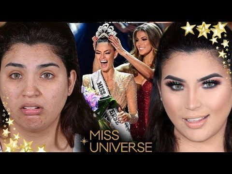 MISS UNIVERSE 2017 tutorial de maquillaje PARA SER MISS paso a paso - YouTube