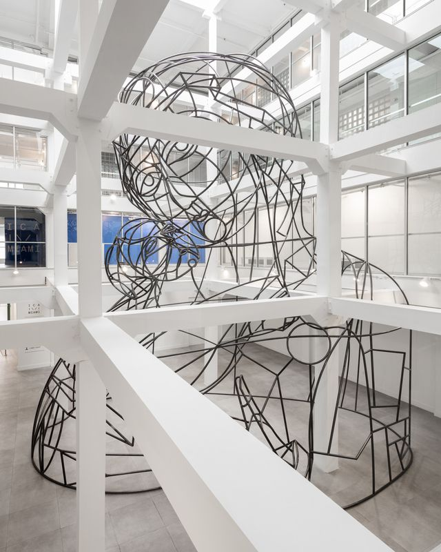 Thomas Bayrle at Institute of Contemporary Art, Miami