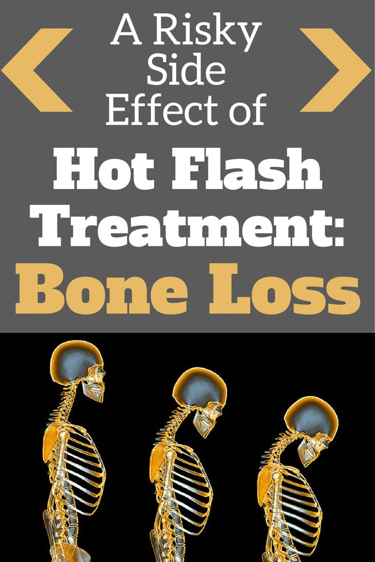 A Risky Side Effect of Hot-Flash Treatment-Bone Loss: New studies suggest women who take an SSRI may accelerate bone loss #hotflashes #boneloss #ssri | everydayhealh.com