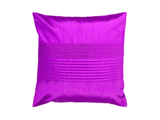 "4 Pc Magenta 42"" X 42"" Tuxedo Pleats Cushion Cover Available At Best Price"