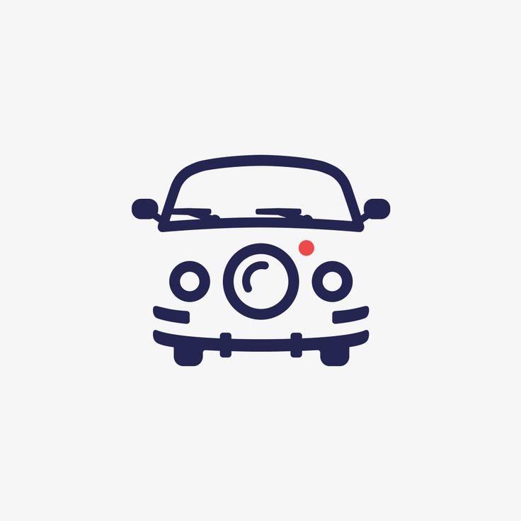SMART LOGOS —  Volkswagen Van + Camera Lens  ✉️ Looking for a...