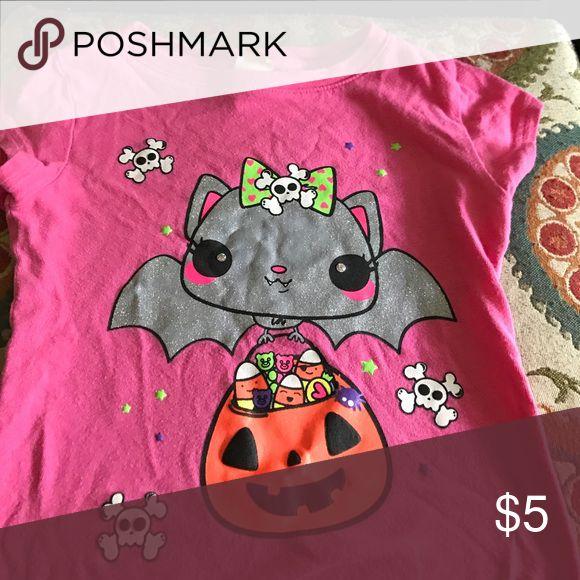 Halloween shirt. Little girls 4/5 Halloween shirt. Cute. Size 4/5 Target Shirts & Tops Tees - Short Sleeve