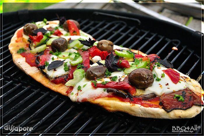 La guida completa della pizza alla griglia