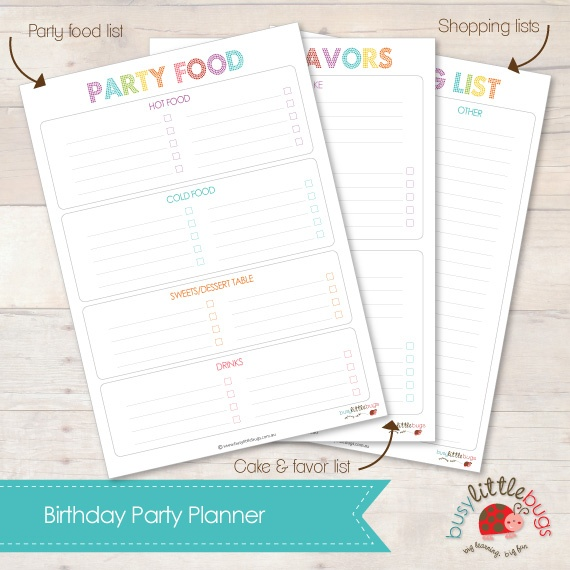 17 Best Ideas About Birthday Party Planner On Pinterest