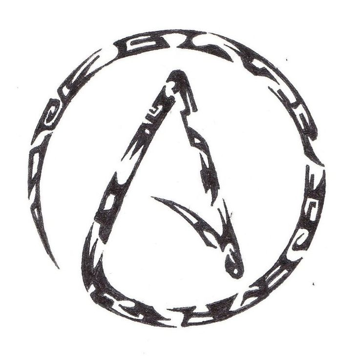 10 Best Symbols Logos Emblems Images On Pinterest Atheist