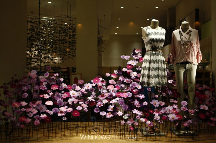 Anthropology - repetition and lighting The World's Best Fashion Window Displays of 2014   WindowsWear Awards