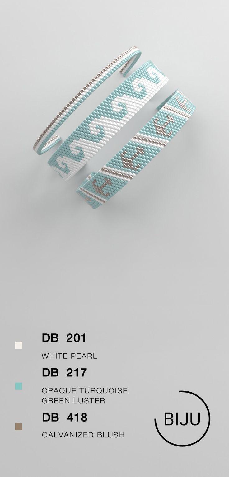 peyote bracelet pattern, peyote pattern, odd count, stitch pattern, pdf file, pdf pattern, #118BIJU