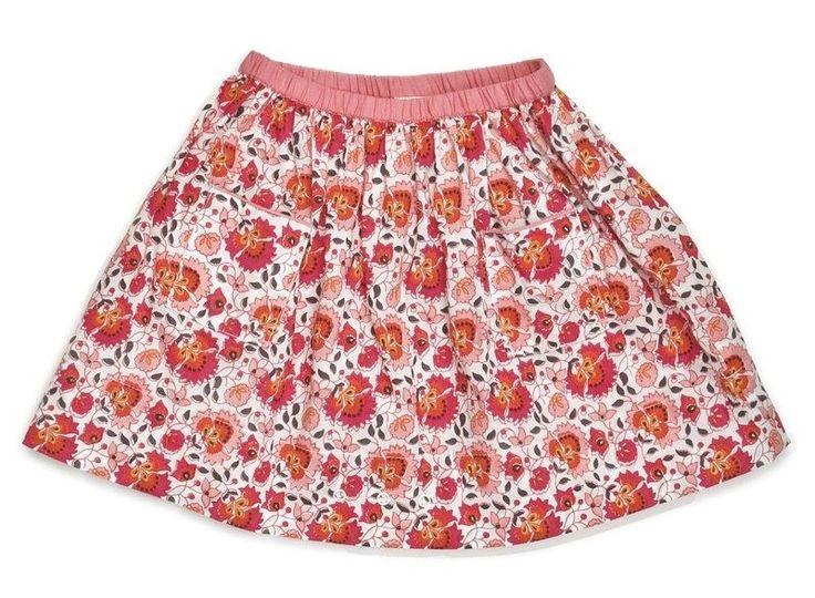 Ekologiczne zabawki - Ubrania - Kosmetyki dla dzieci - Spódnica Rose z nadrukiem różowym OEUF