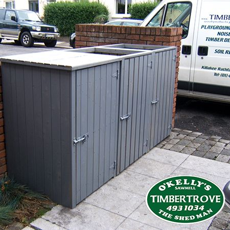 We have the soultion for your ugly wheelie bins Buy 1 Bin 145 each Buy 2 Bins 135 each Buy 3 Bins 125 each Maintence free made from pressure treated