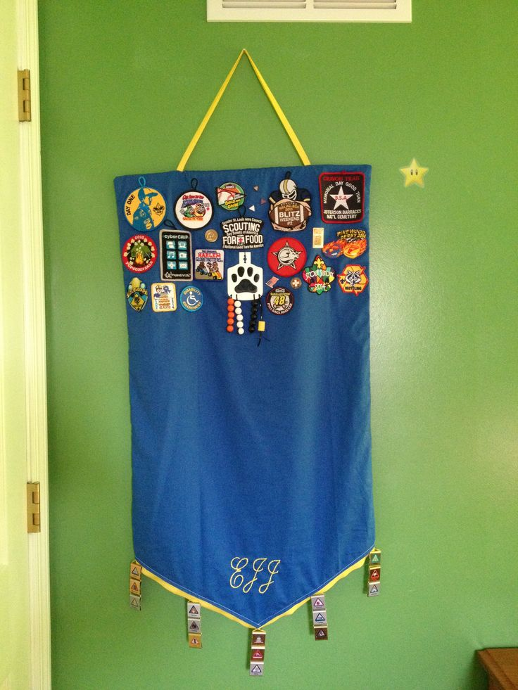 Cub Scout Belt Loop, Pin, and Patch Banner | Scouts | Cub ...