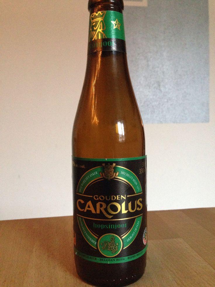 Gouden Carolus - Hopsinjoor. 330 ml, 8% Brouwerij Het Anker, Mechelen