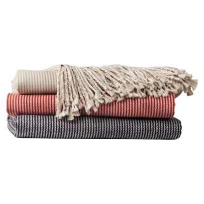 Threshold™ Microstripe Throw | Featured on Scandinavian Simplicity at http://eclecticnarwhal.com/scandinavian-simplicity/