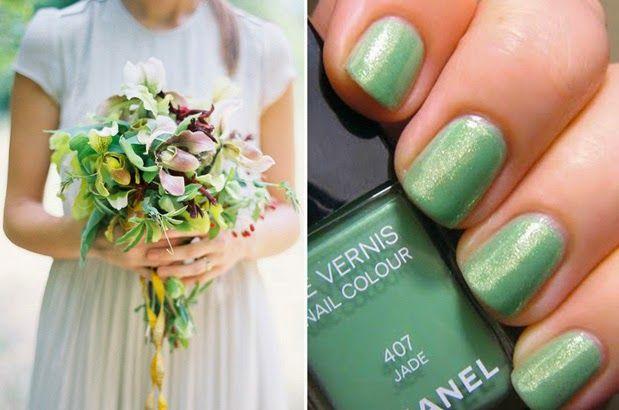 Bruid in Stijl: Weg met french manicure, kleur die nagels!