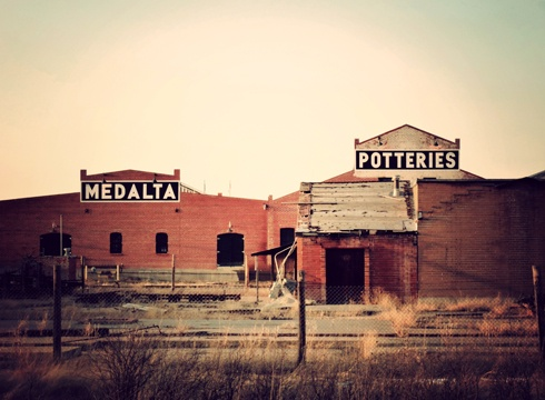 Medalta Potteries Historic Site // Photo Editing Luke